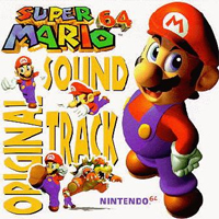 Super Mario 64 CD art